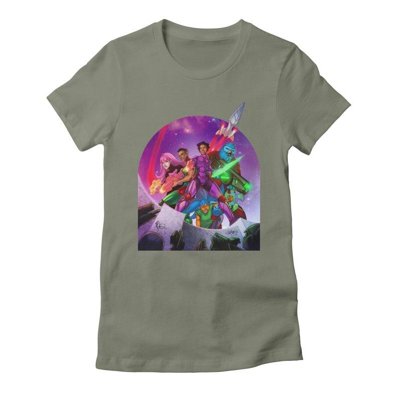 Galaxys for Hire Women's T-Shirt by Devil's Due Comics
