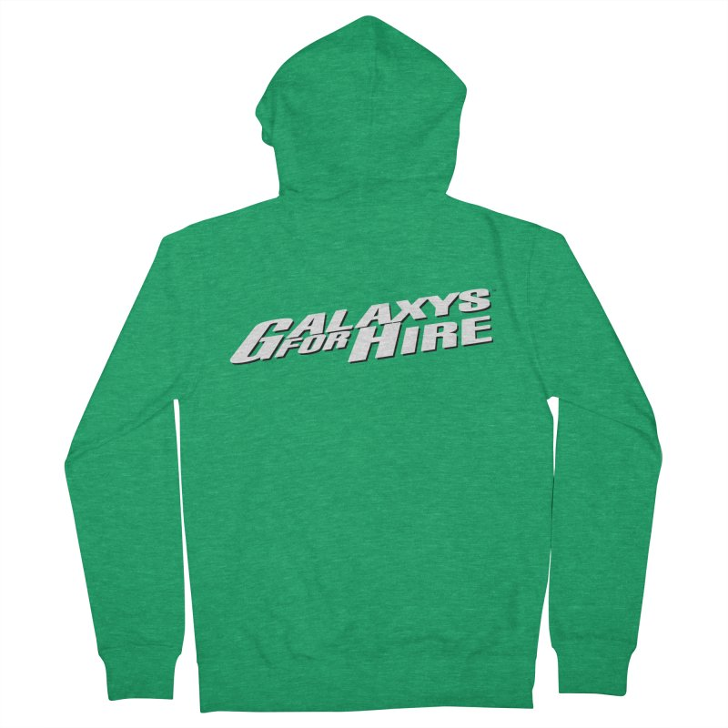 Galaxys for Hire Logo Women's Zip-Up Hoody by Devil's Due Comics