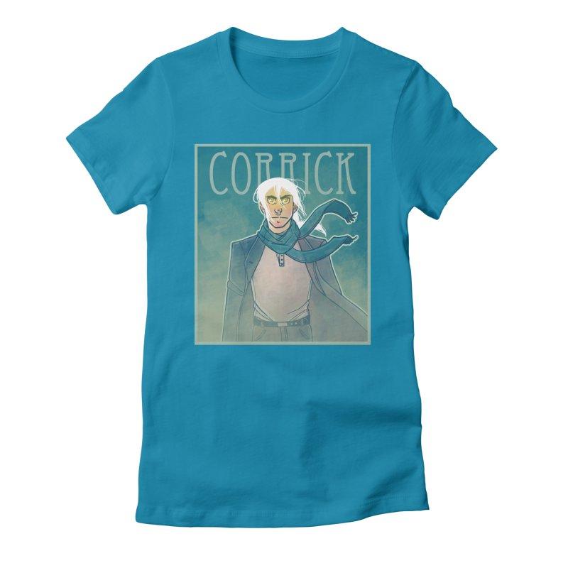 Corrick Portrait Women's T-Shirt by Devil's Due Comics