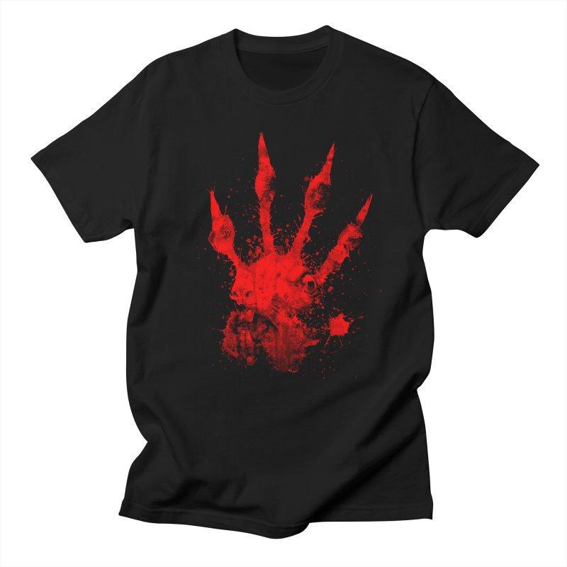 Squarriors' Bloody Print Men's T-Shirt by Devil's Due Comics