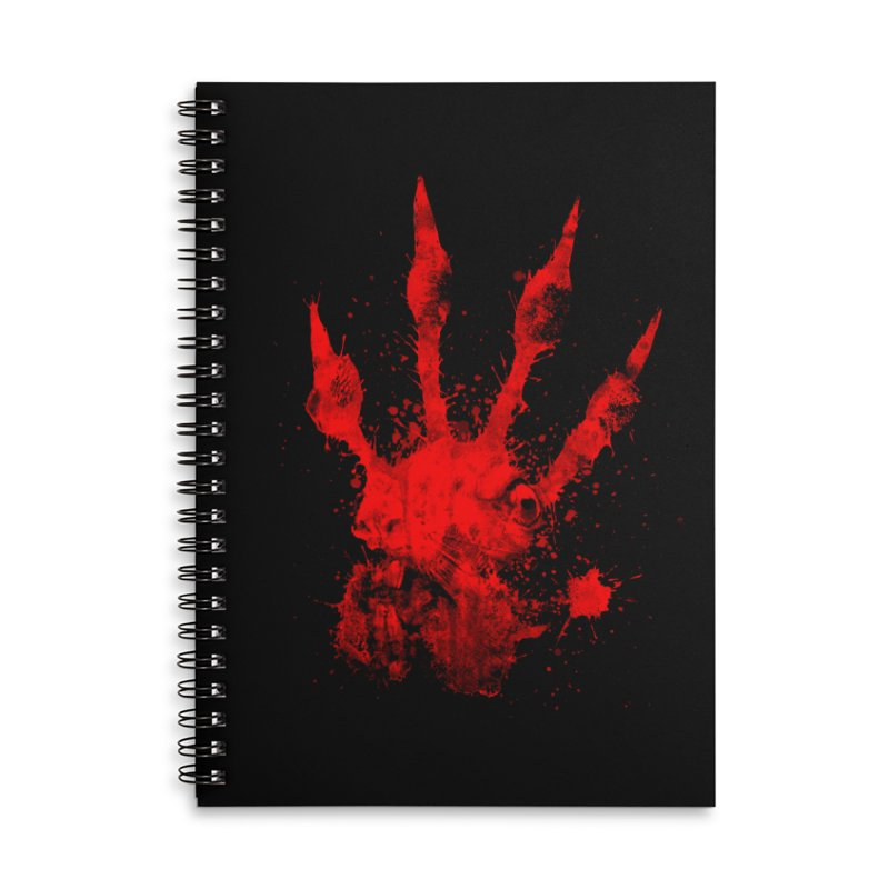 Squarriors' Bloody Print Accessories Lined Spiral Notebook by Devil's Due Comics