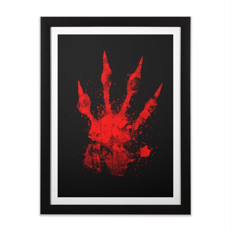 Squarriors' Bloody Print Home Framed Fine Art Print by Devil's Due Comics