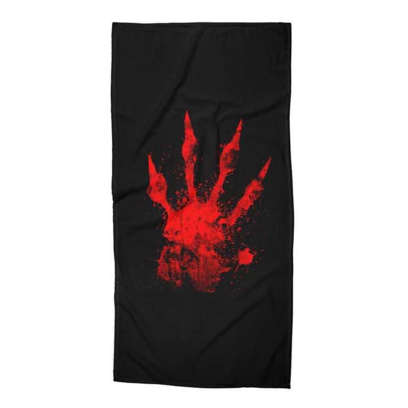 Squarriors' Bloody Print Accessories Beach Towel by Devil's Due Comics