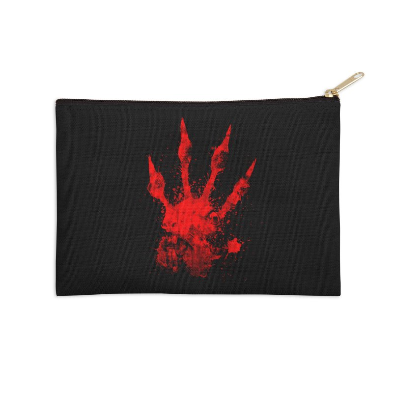 Squarriors' Bloody Print Accessories Zip Pouch by Devil's Due Comics