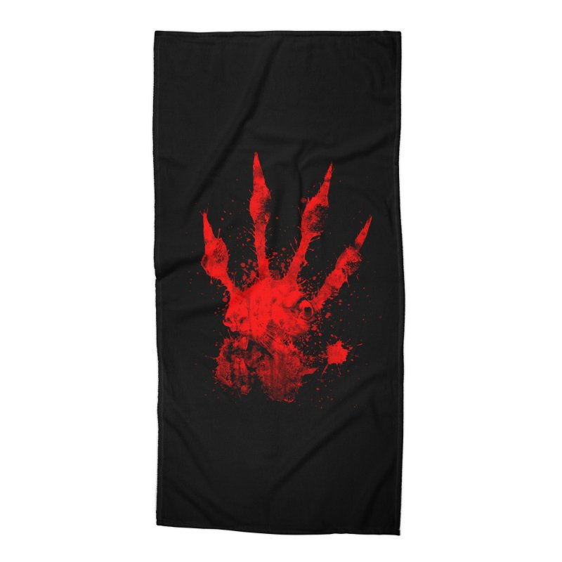 Squarriors' Bloody Print Accessories Beach Towel by Devil's Due Comics