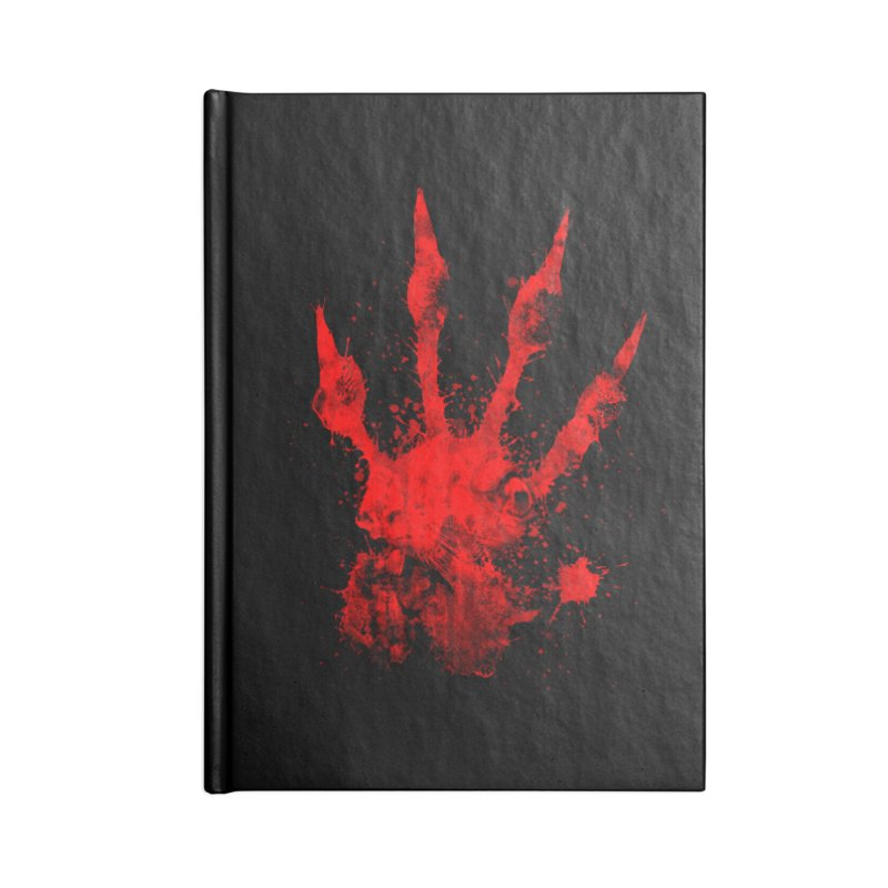 Squarriors' Bloody Print Accessories Lined Journal Notebook by Devil's Due Comics