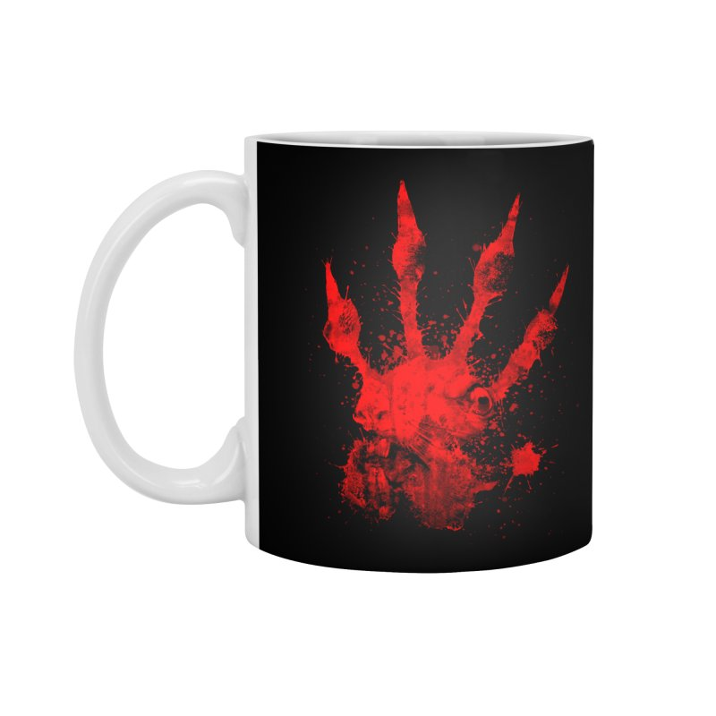 Squarriors' Bloody Print Accessories Mug by Devil's Due Entertainment Depot