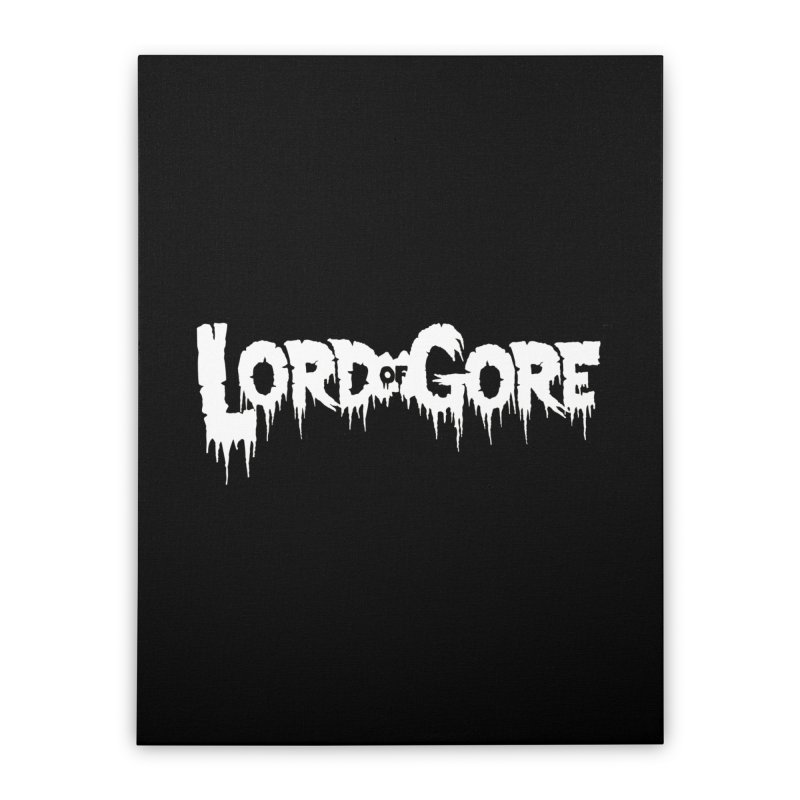 Lord of Gore Logo Home Stretched Canvas by Devil's Due Entertainment Depot
