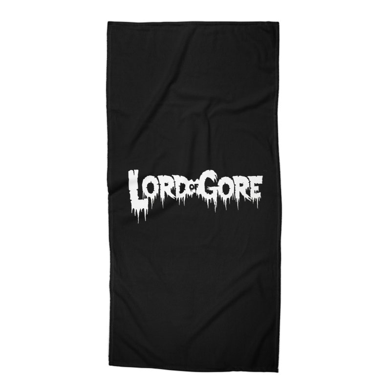 Lord of Gore Logo Accessories Beach Towel by Devil's Due Entertainment Depot