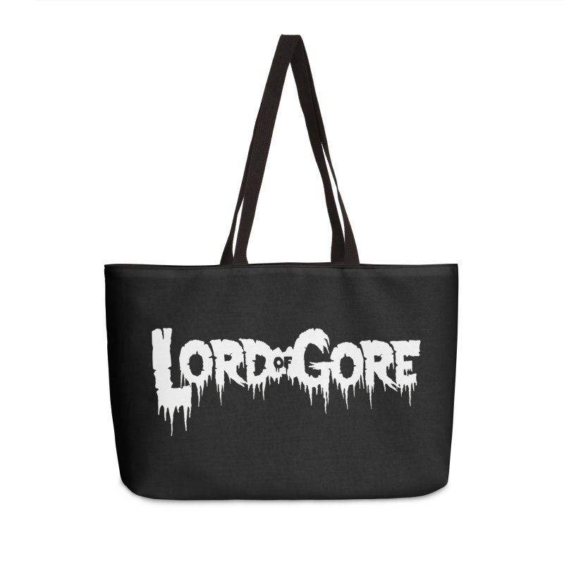 Lord of Gore Logo Accessories Weekender Bag Bag by Devil's Due Comics