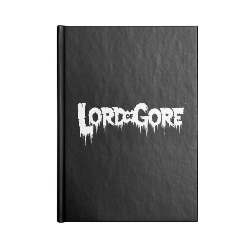 Lord of Gore Logo Accessories Blank Journal Notebook by Devil's Due Comics