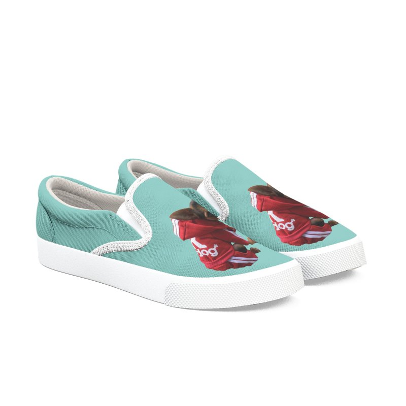 Morty the Good Boy Women's Slip-On Shoes by Devil's Due Comics
