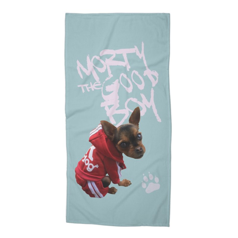 Morty the Good Boy Accessories Beach Towel by Devil's Due Comics