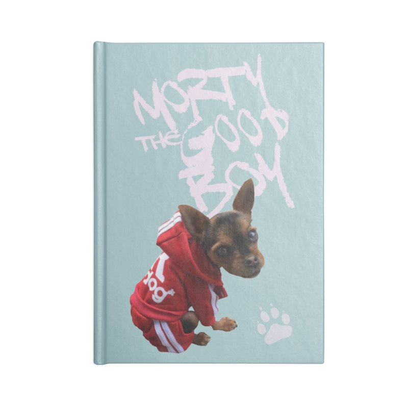 Morty the Good Boy Accessories Blank Journal Notebook by Devil's Due Comics