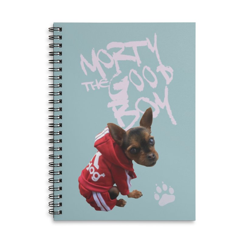 Morty the Good Boy Accessories Lined Spiral Notebook by Devil's Due Comics