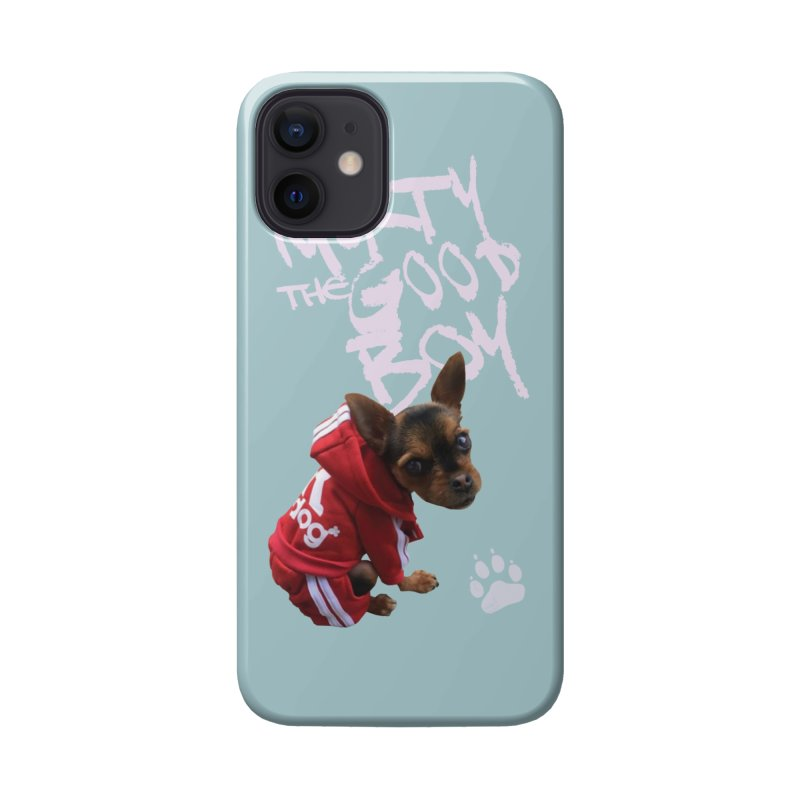 Morty the Good Boy Accessories Phone Case by Devil's Due Comics