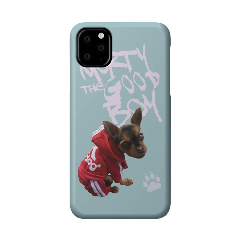 Morty the Good Boy Accessories Phone Case by Devil's Due Comics