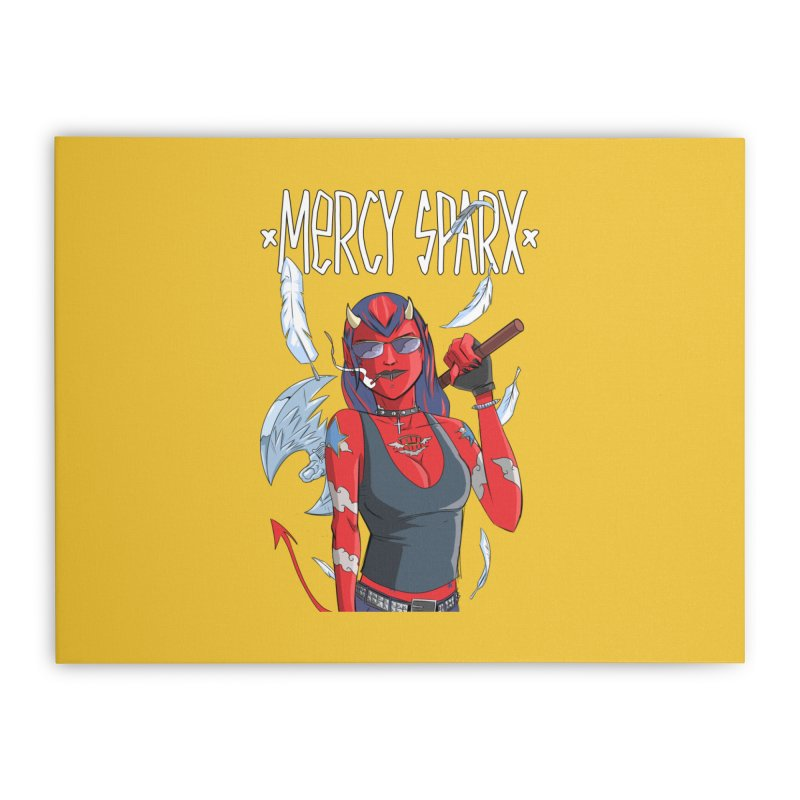 Mercy Sparx - Axe Me Anything Home Stretched Canvas by Devil's Due Comics