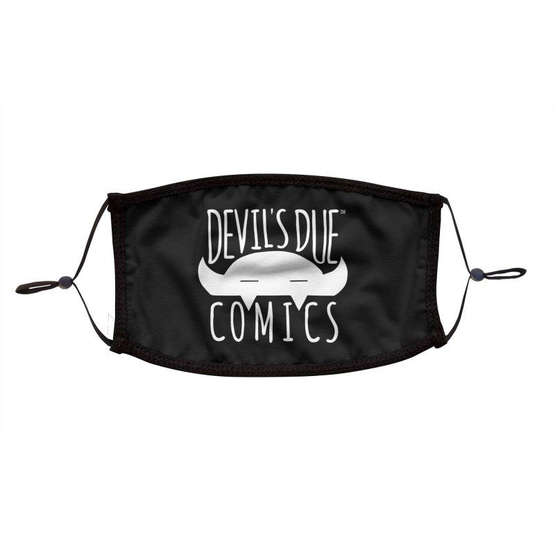 Devil's Due Logo Accessories Face Mask by Devil's Due Comics