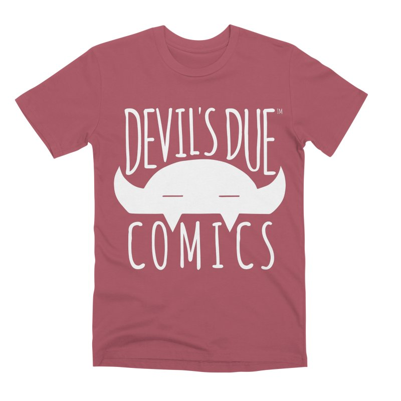 Devil's Due Logo Men's Premium T-Shirt by Devil's Due Comics