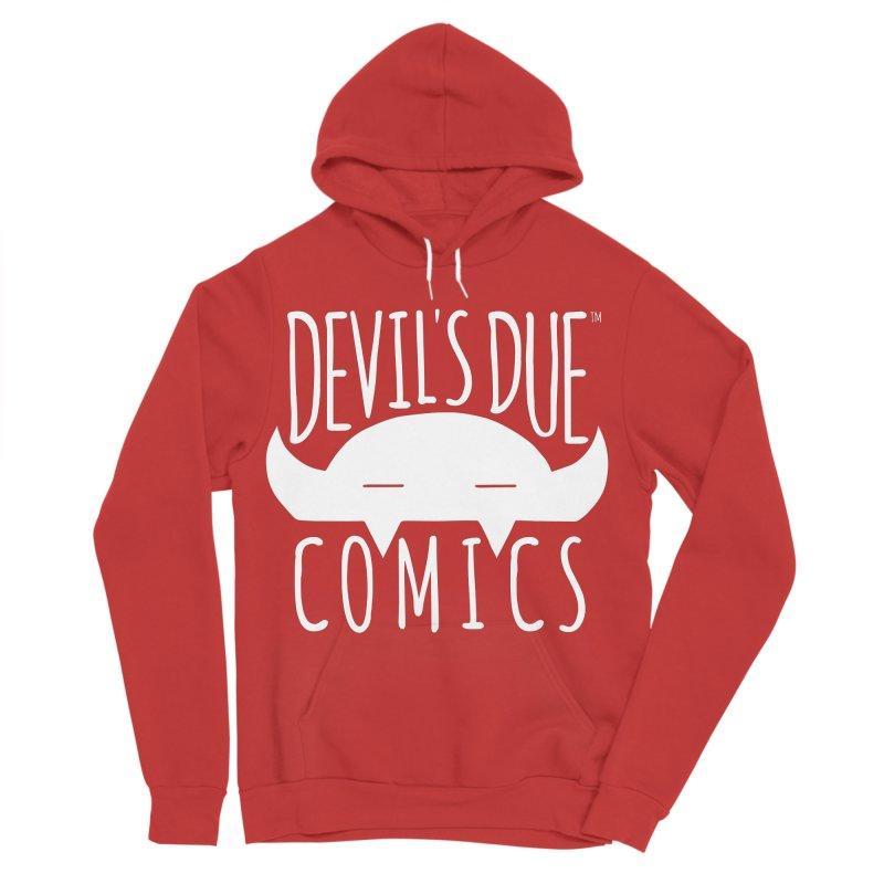 Devil's Due Logo Men's Sponge Fleece Pullover Hoody by Devil's Due Comics