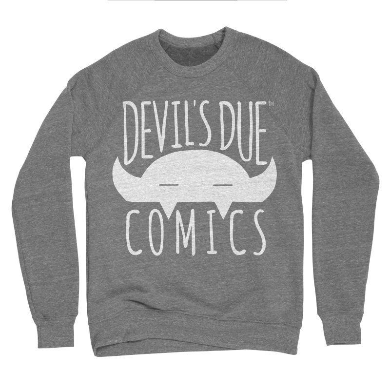 Devil's Due Logo Men's Sponge Fleece Sweatshirt by Devil's Due Comics