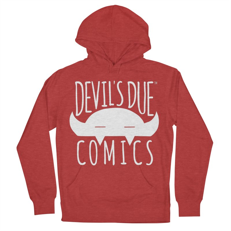 Devil's Due Logo Women's French Terry Pullover Hoody by Devil's Due Comics
