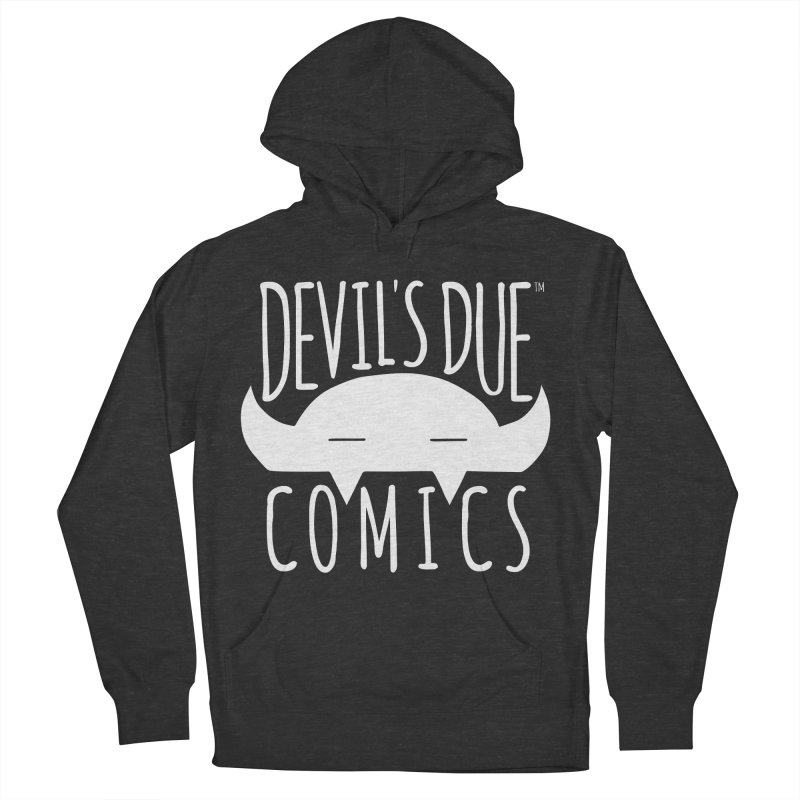 Devil's Due Logo Men's French Terry Pullover Hoody by Devil's Due Comics
