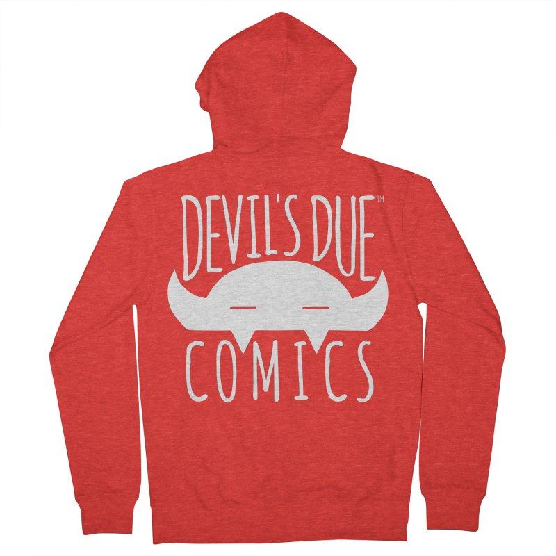 Devil's Due Logo Women's Zip-Up Hoody by Devil's Due Comics