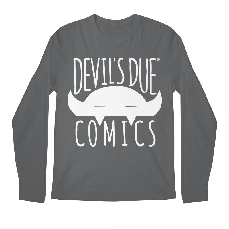 Devil's Due Logo Men's Regular Longsleeve T-Shirt by Devil's Due Comics