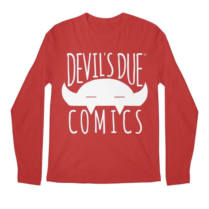 Devil's Due Logo Men's Regular Longsleeve T-Shirt by Devil's Due Comics