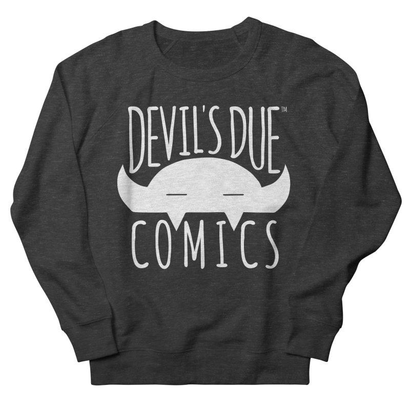 Devil's Due Logo Men's French Terry Sweatshirt by Devil's Due Comics
