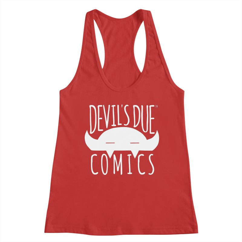 Devil's Due Logo Women's Tank by Devil's Due Comics