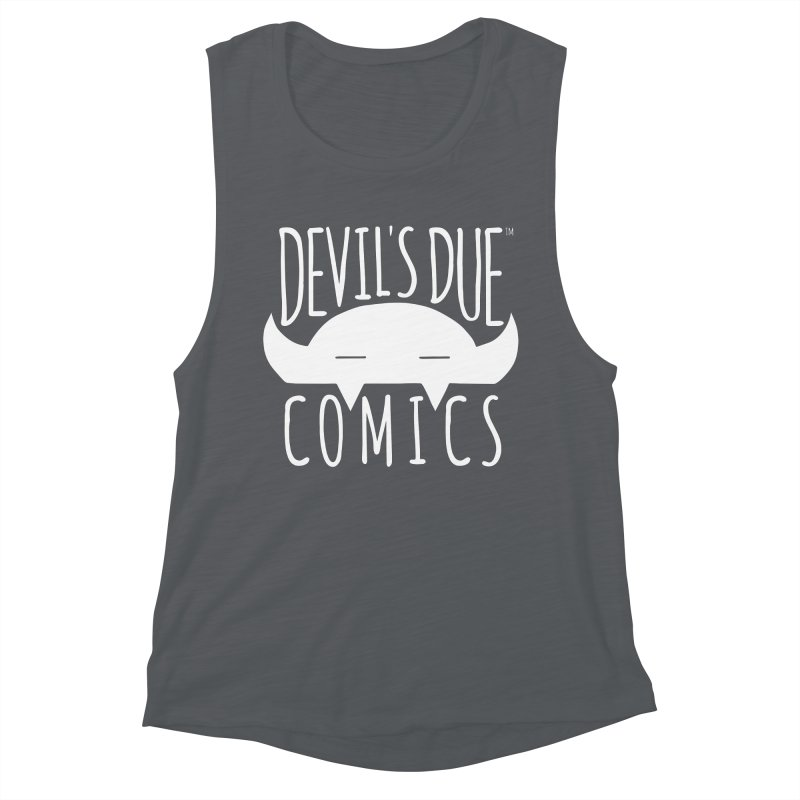 Devil's Due Logo Women's Muscle Tank by Devil's Due Comics
