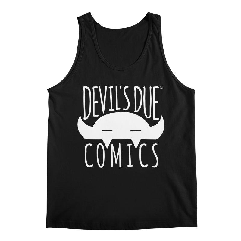 Devil's Due Logo Men's Tank by Devil's Due Comics