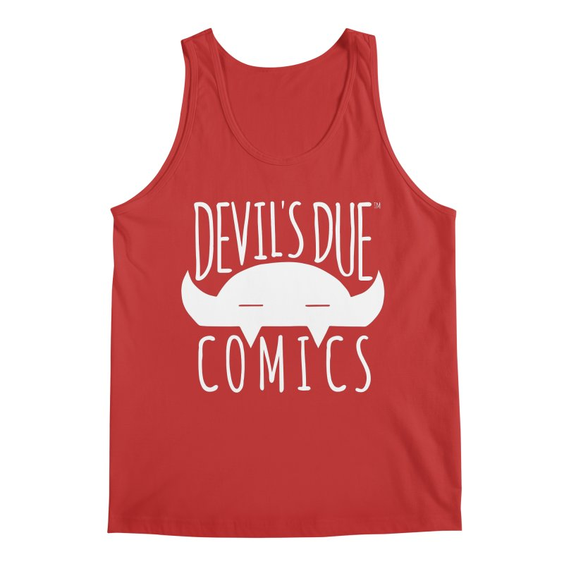 Devil's Due Logo Men's Tank by Devil's Due Comics