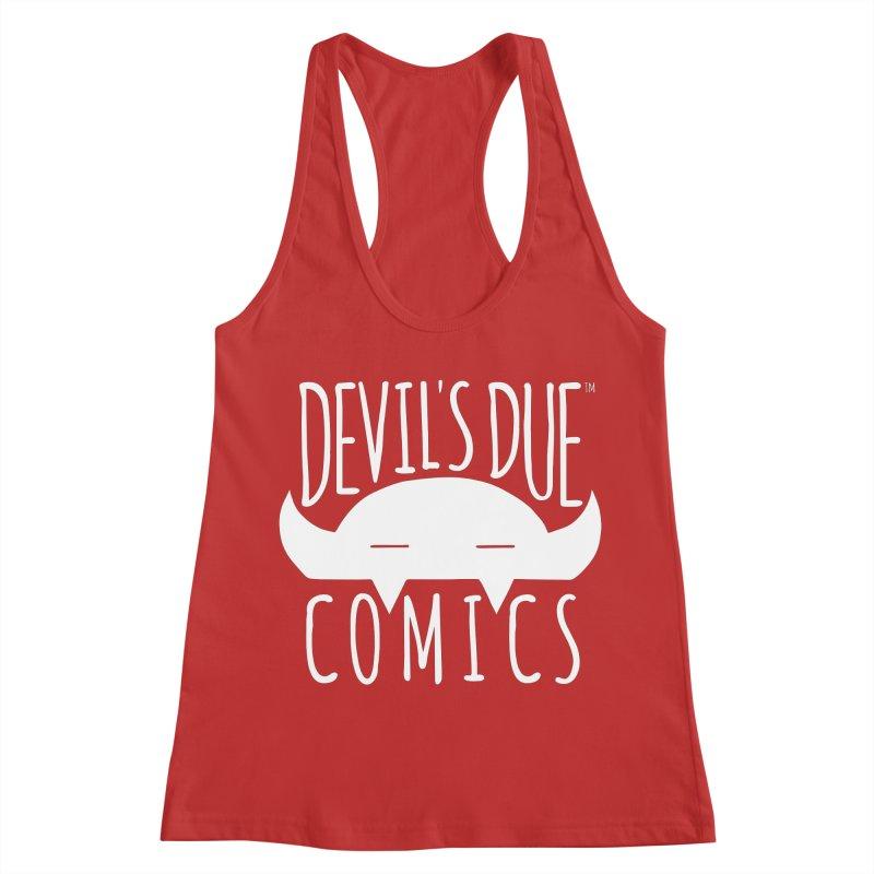 Devil's Due Logo Women's Racerback Tank by Devil's Due Comics