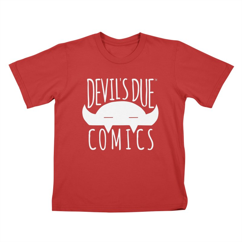 Devil's Due Logo Kids T-Shirt by Devil's Due Comics