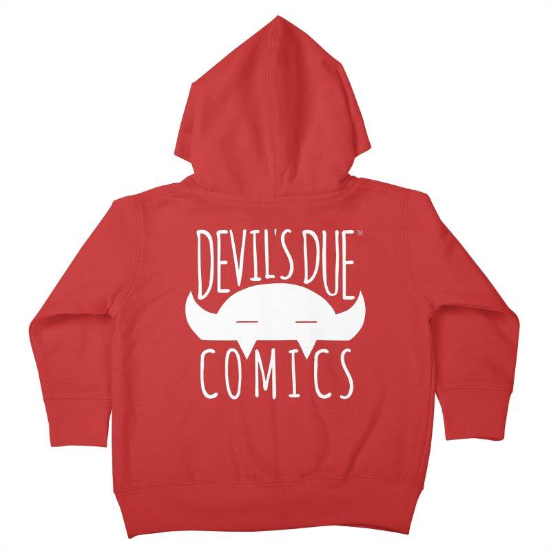 Devil's Due Logo Kids Toddler Zip-Up Hoody by Devil's Due Comics
