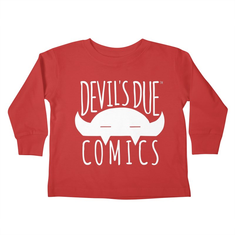 Devil's Due Logo Kids Toddler Longsleeve T-Shirt by Devil's Due Comics