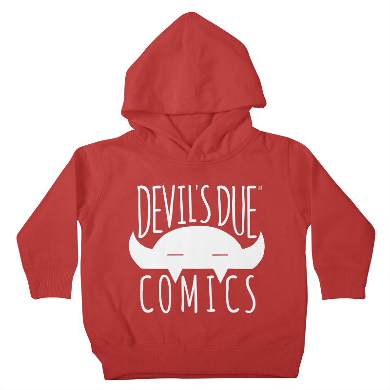 Devil's Due Logo Kids Toddler Pullover Hoody by Devil's Due Comics