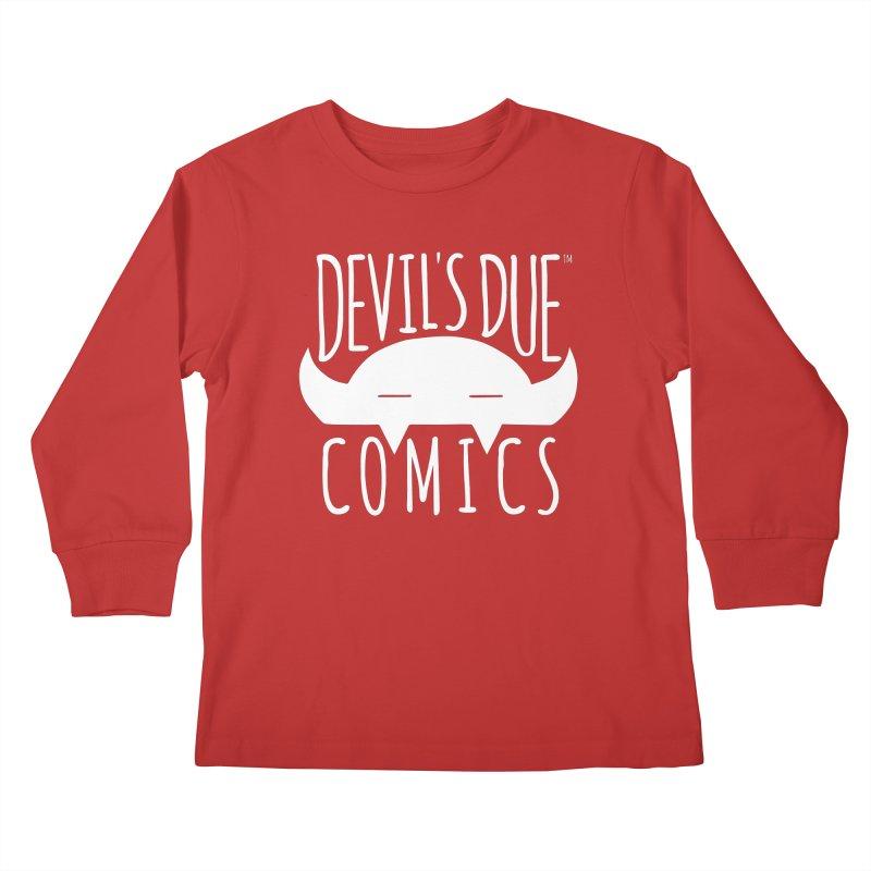 Devil's Due Logo Kids Longsleeve T-Shirt by Devil's Due Comics