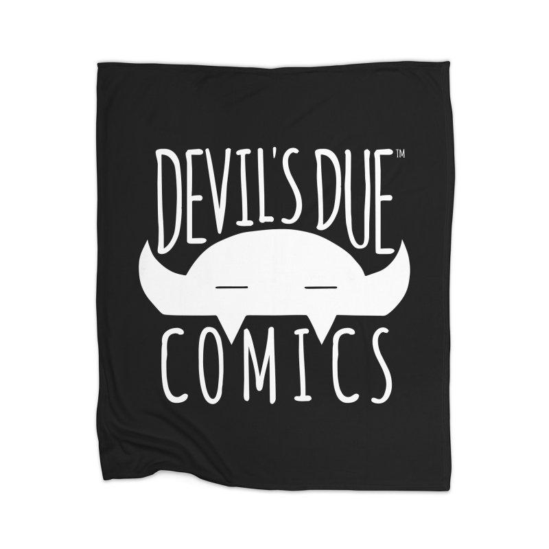 Devil's Due Logo Home Blanket by Devil's Due Comics