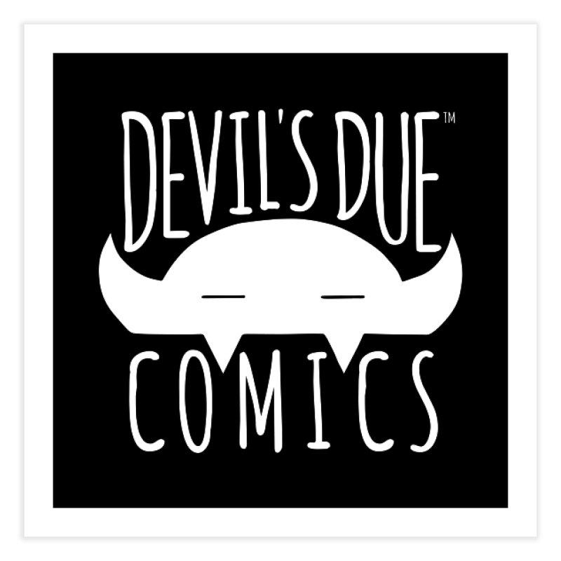 Devil's Due Logo Home Fine Art Print by Devil's Due Comics