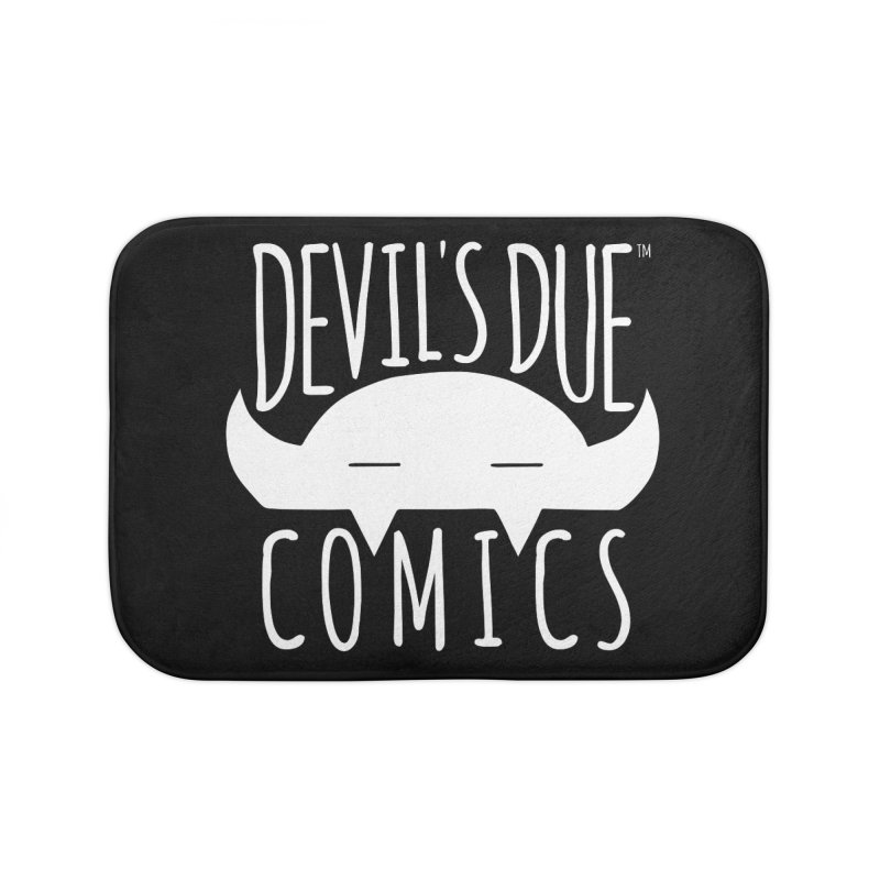 Devil's Due Logo Home Bath Mat by Devil's Due Comics