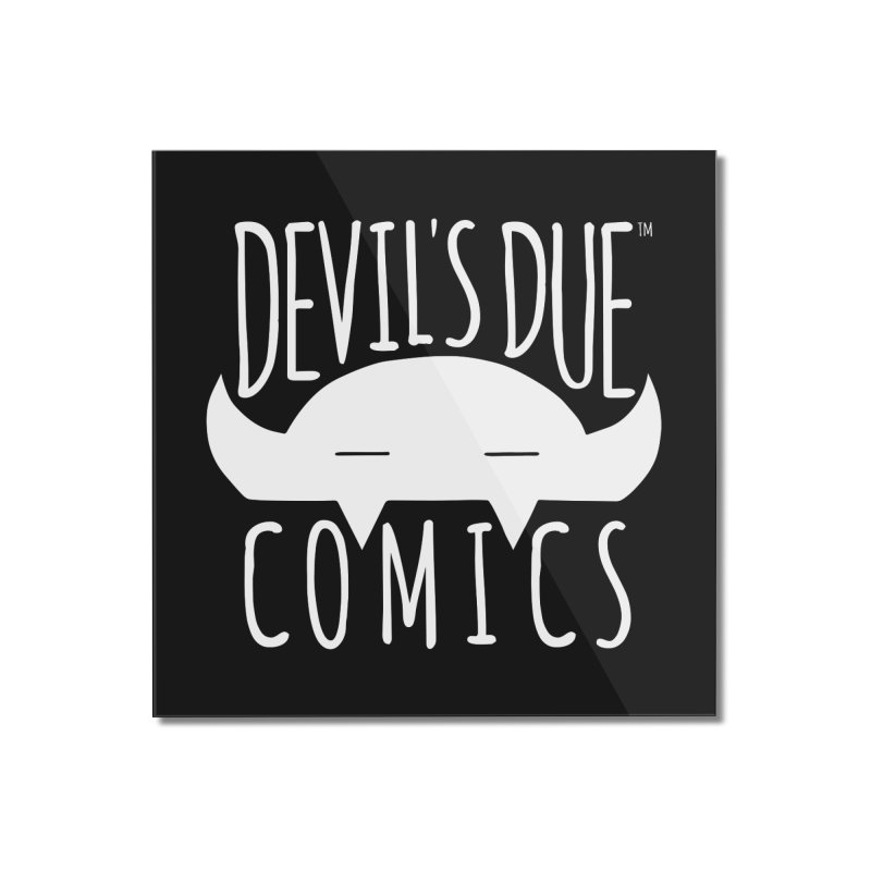Devil's Due Logo Home Mounted Acrylic Print by Devil's Due Comics