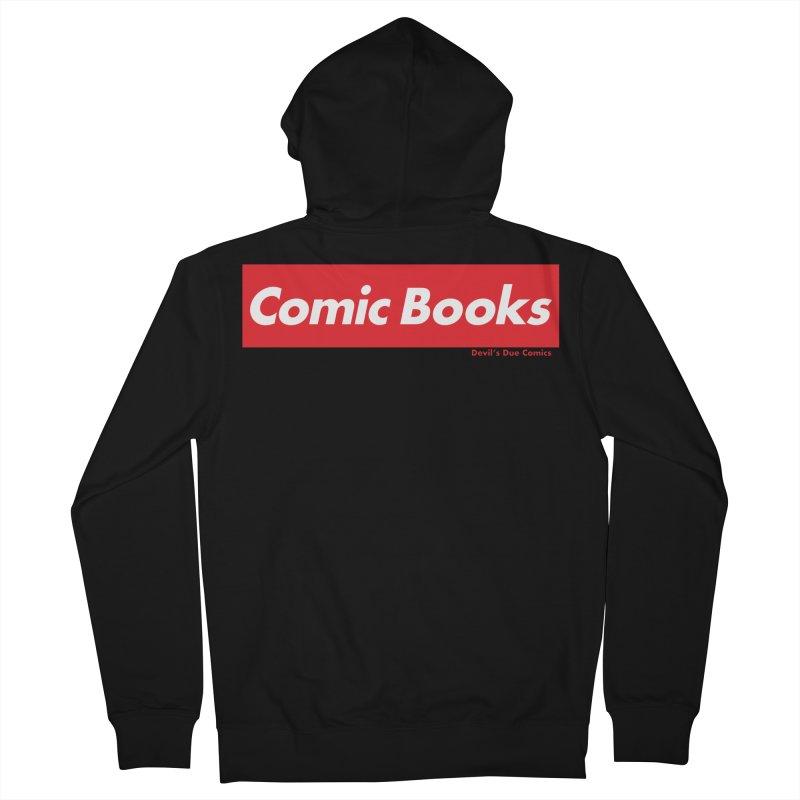 Comics Are Supreme Men's Zip-Up Hoody by Devil's Due Comics