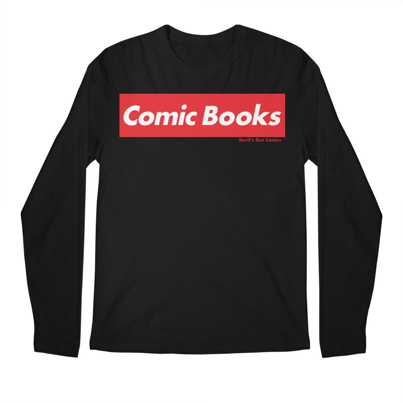 Comics Are Supreme Men's Regular Longsleeve T-Shirt by Devil's Due Comics