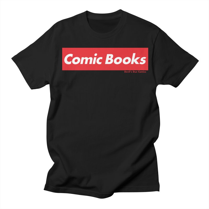Comics Are Supreme Men's Regular T-Shirt by Devil's Due Comics