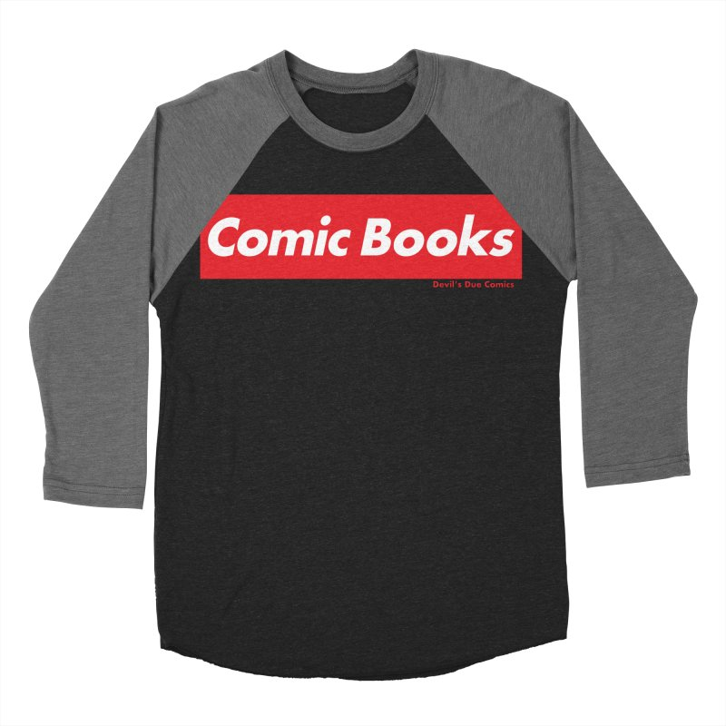 Comics Are Supreme Women's Baseball Triblend Longsleeve T-Shirt by Devil's Due Comics
